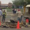 Repara e instala COMAPA brocales tras solicitudes ciudadanas
