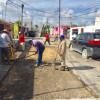 Rehabilita Ayuntamiento de Reynosa calle Argentina en la Cañada