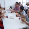 Supervisa Sebien trabajo en comedores comunitarios de zonas rurales