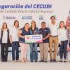 Mariana Gómez da inicio a las actividades del quinto CECUDI en Tamaulipas