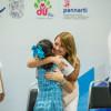 Entrega Mariana Gómez estímulos económicos a niñas, niños y  para que continúen con sus estudios.