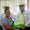 Agricultores de seis Distritos de Desarrollo Rural recibieron 11.7 ton de semilla de súper sorgo.