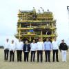 Zarpa de Tamaulipas la plataforma petrolera más grande construida en México.