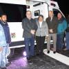 Cuenta sistema estatal de salud con 3 nuevas ambulancias