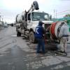 COMAPA de mantenimiento a red de drenaje en amplio sector de la Longoria