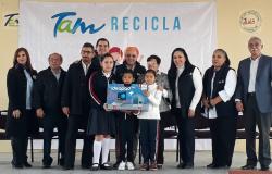 PREMIAN ESFUERZO DE ESCUELAS PARTICIPANTES EN TAMRECICLA.