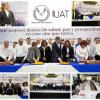 Preside Rector de la UAT saludo de año nuevo con universitarios