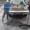 COMAPA baja niveles de aguas residuales en drenajes