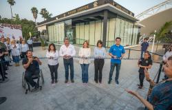 Inaugura Mariana Gómez primer cafetería incluyente en Tamaulipas.