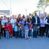 Inauguró Maki Ortiz tres calles pavimentadas más
