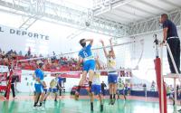 Voleibol de Sala, Sub 16 se cuelga medalla de Oro.