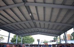 Lleva Gobierno de Tamaulipas mejoras a Secundaria 7 en Tampico.