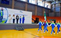 Abanderan a Delegación Tamaulipeca de los Juegos Deportivos Escolares de la Educación Básica 2018-2019.