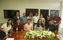 Recibe Alcaldesa de Reynosa a estudiantes destacados del ITR
