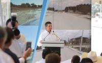 Entrega Gobernador obras para el fortalecimiento municipal en la Zona Conurbada Sur .