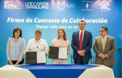 DIF Tamaulipas y Gobierno de Tamaulipas promueven cultura de donación de sangre.