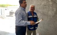 Supervisa Gobernador construcción de viviendas para pescadores en Matamoros.