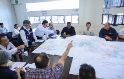 Atiende personal del Gobierno de Tamaulipas contingencia por inundaciones en Reynosa.