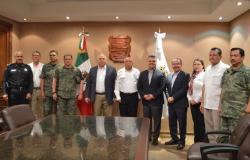 Autoridades del Estado y Federación definen acuerdos en Tamaulipas para atender el fenómeno migratorio.