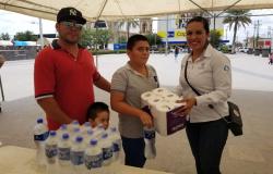 Responden ciudadanos con ayuda para afectados por lluvias