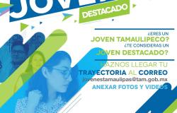 """Invitan a la juventud tamaulipeca a participar en la convocatoria de """"Jóvenes Destacados"""""""
