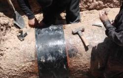 Repara COMAPA maniful en estación de Jarachina Norte