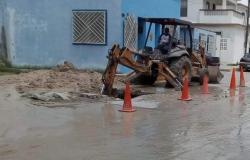Se rehabilitará añeja línea general de agua en la Hidalgo