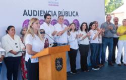 Encabeza Maki Ortiz Audiencia Pública en fraccionamiento La Cima
