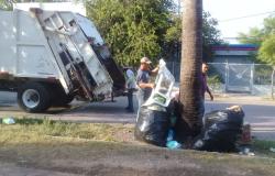Recolección de basura continúa sin interrupción