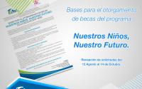 """Inicia trámite de Beca Nuestros Niños, Nuestro Futuro"""" Ciclo Escolar 2019-2020."""