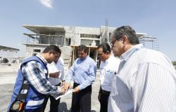 Supervisa Gobernador obras en puente internacional Nuevo Laredo III