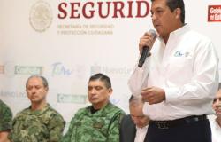 Se realiza reunión del Gobernador de Tamaulipas con los Secretarios  de Seguridad, SEDENA Y SEMAR.