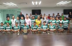 Santos Sub 15 Academia Reynosa visita a Alcaldesa Maki Ortiz