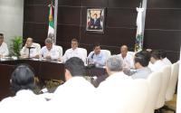 Sostiene reunión Gobernador con responsables de organismos operadores de agua potable.