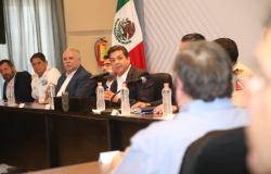 Definen Gobierno de Tamaulipas, Fuerzas Federales y Mesas Ciudadanas acciones de seguridad y justicia.