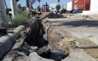 Trabaja COMAPA de Reynosa en rehabilitación de dos caídos