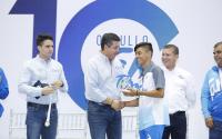 Reconoce Gobernador a deportistas de la Olimpiada Nacional 2019.