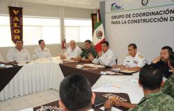 Definen acuerdos Gobierno estatal y fuerzas federales para reforzar la seguridad en región ribereña.