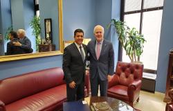 Inicia Gobernador gira de trabajo en Washington D.C..