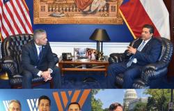 Participa gobernador en Washington en panel de seguridad y desarrollo económico fronterizo.