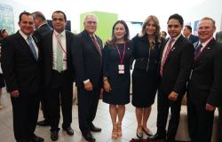 Reconocen trabajo del gobierno de Reynosa Alcaldes de Texas y Tamaulipas