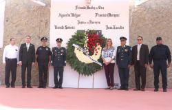Ayuntamiento de Reynosa rinde homenaje a los Niños Héroes