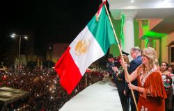 Ceremonia del Grito rompe fronteras…. Reynosa