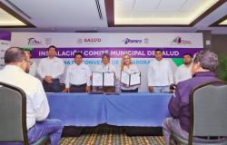 Estrechan colaboración Estado-Municipio para proteger la salud de la población.
