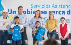 """Llevan gobierno del estado y DIF Tamaulipas brigada """"Un Gobierno Cerca de Ti"""" a las familias de San Fernando."""