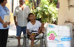 Entrega DIF Tamaulipas dotaciones Sin Límites a personas con discapacidad severa.
