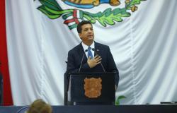 Rinde Francisco García Cabeza de Vaca Tercer Informe de Gobierno.