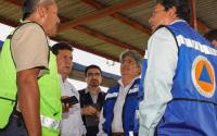 Gobierno de Tamaulipas atiende contingencia por lluvias intensas en Tula y Ocampo.