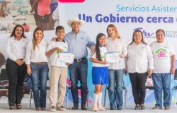 Continúa Gobierno del Estado y DIF Tamaulipas acercando servicios y apoyos a las familias de la entidad.