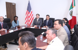 Estrecha colaboración Gobierno de Tamaulipas con Estados Unidos.